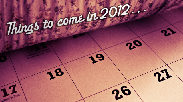 Fringe, Adam Lambert, Festival Season… Things to come in 2012!