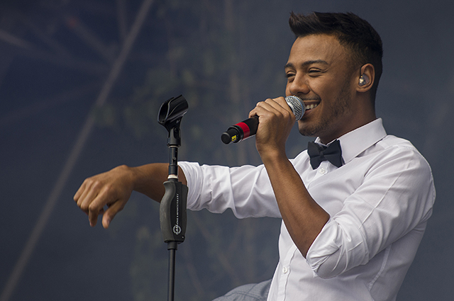 Photos: Marcus Collins at Party in the Park