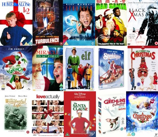 Our Top 15 Christmas Films