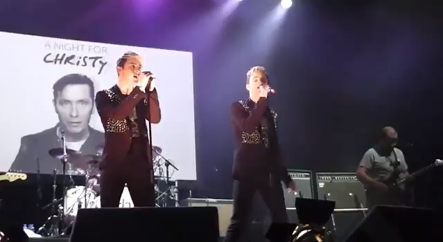 Video: Jedward perform at Christy Dignam benefit
