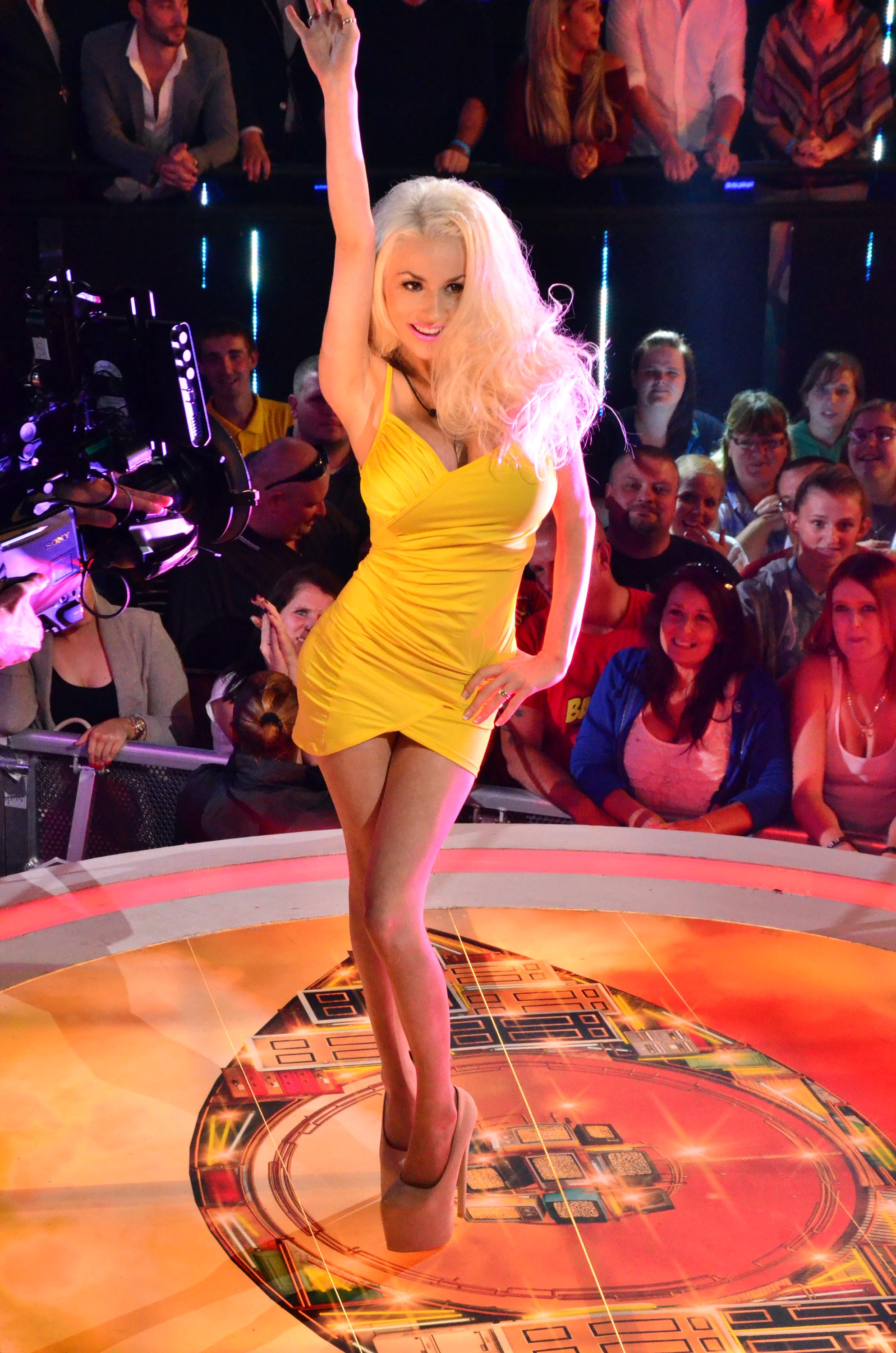 Courtney Stodden & Louie Spence evicted from Celebrity Big Brother