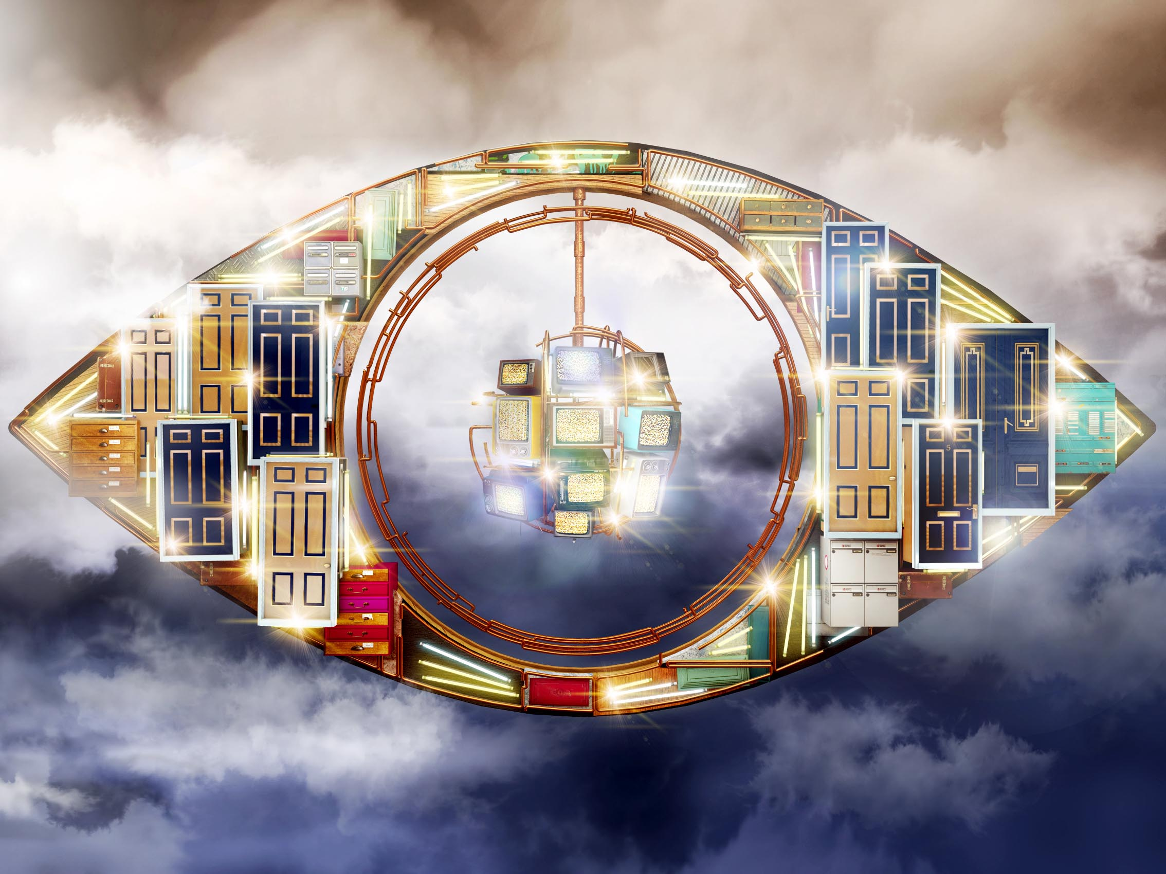The first Celebrity Big Brother task: The Cult of Celebrity