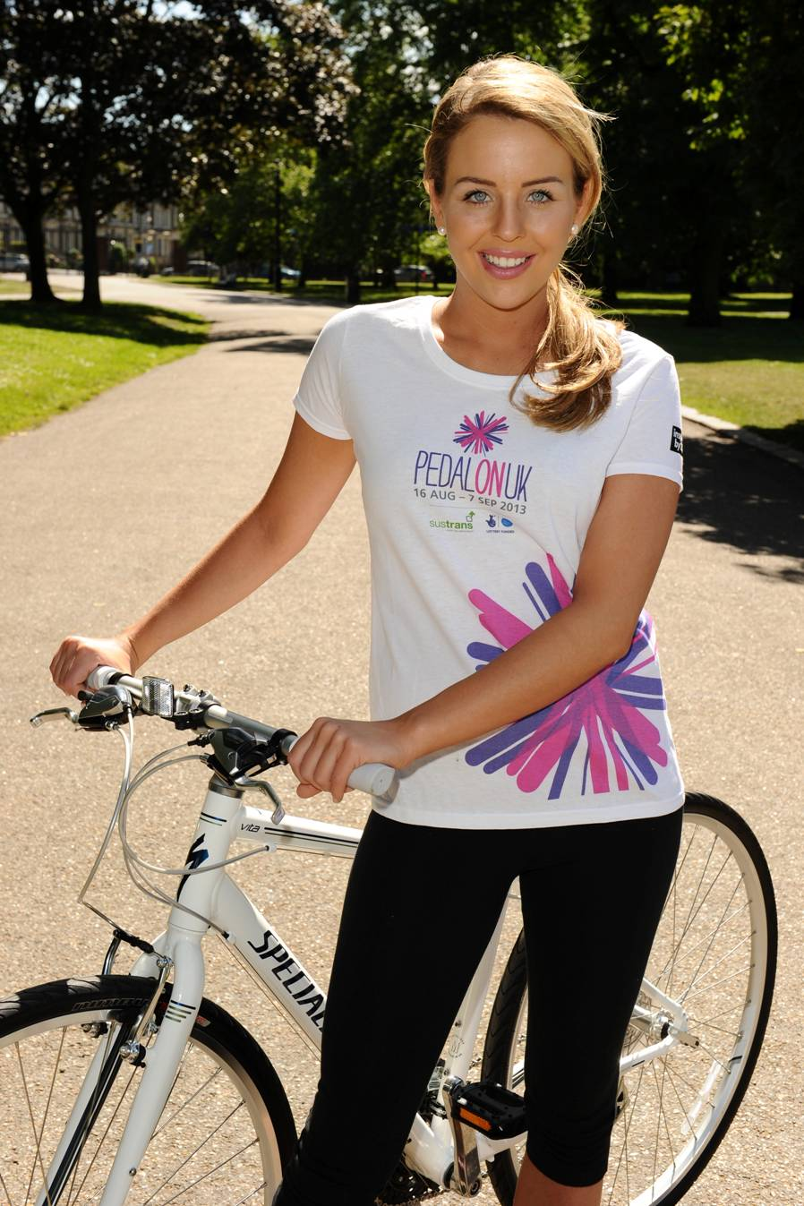 The Only Way is Cycling for Lydia Bright