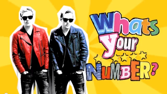 Jedward release What's Your Number lyric video