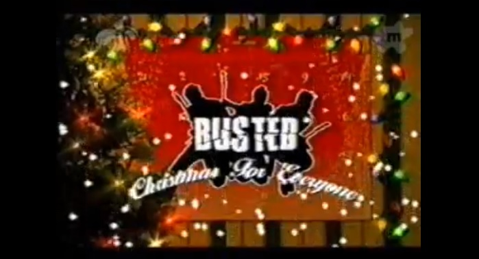 It's that time of year again… Time to watch Busted: Christmas For Everyone