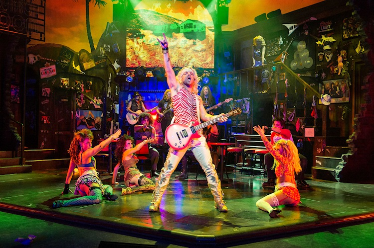 Rock of Ages review – Edinburgh Playhouse