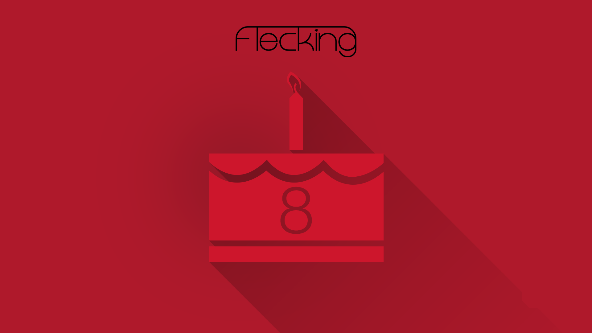 Happy Birthday to Us! Flecking Records is 8 today