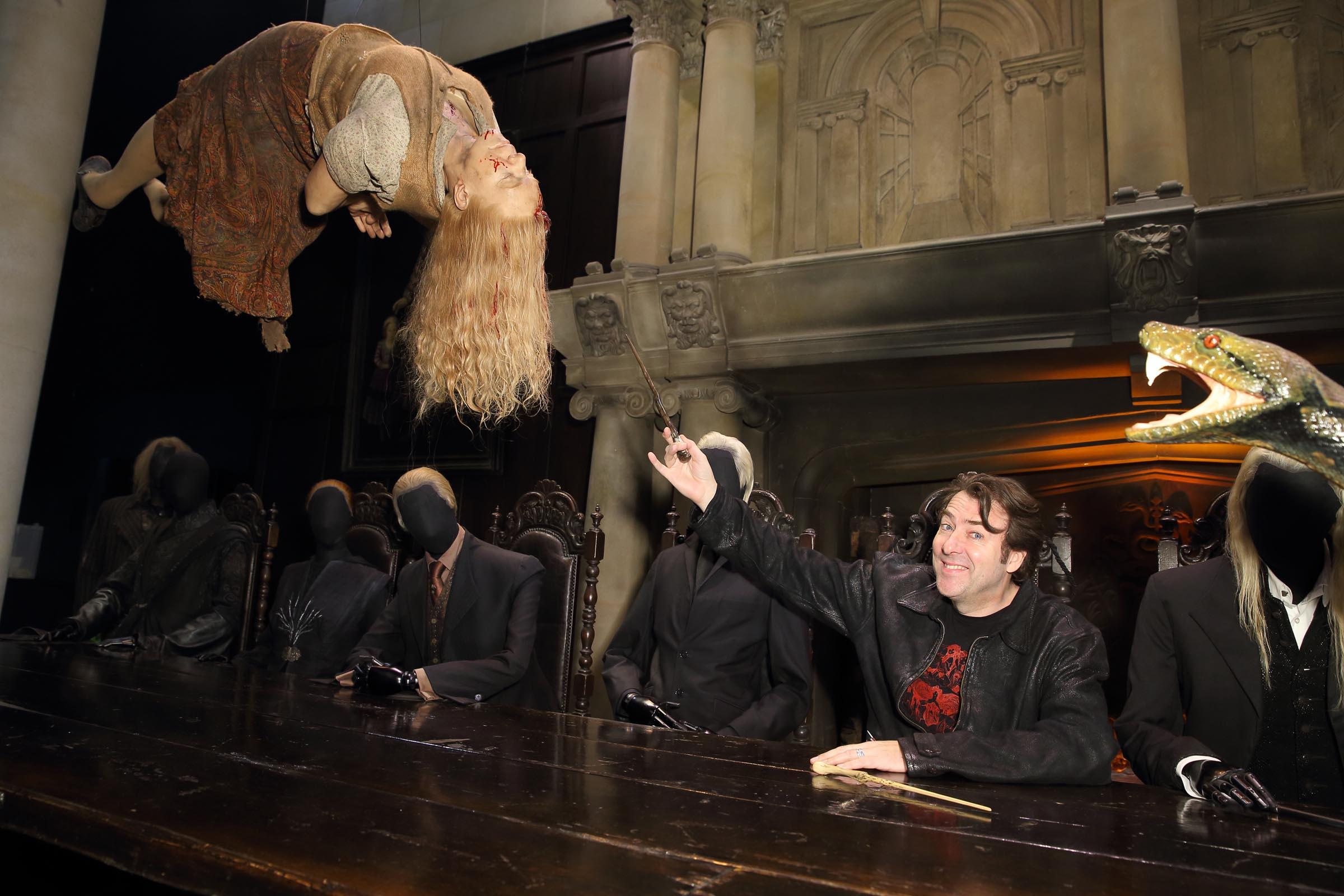 Dark Arts Launch evening at Warner Bros. Studio Tour London – The Making of Harry Potter