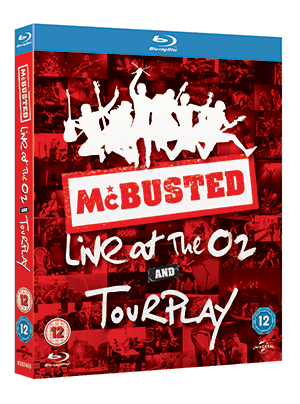 McBusted's Tourplay to be released on DVD & blu-ray