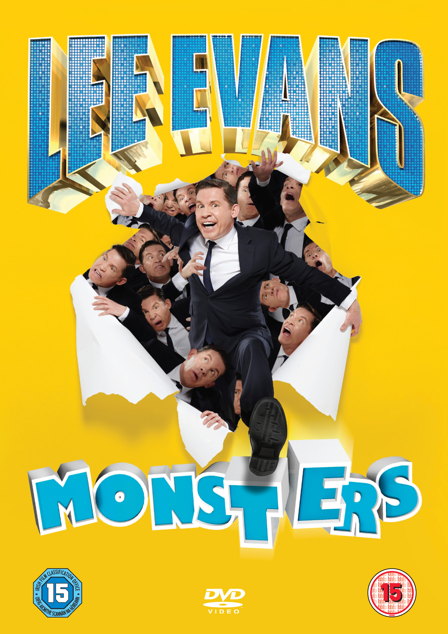 Lee Evans is back with 'Monsters' live DVD