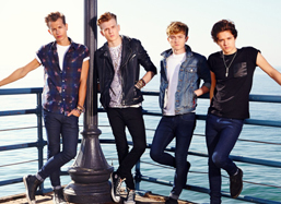 The Vamps to perform at Edinburgh Castle
