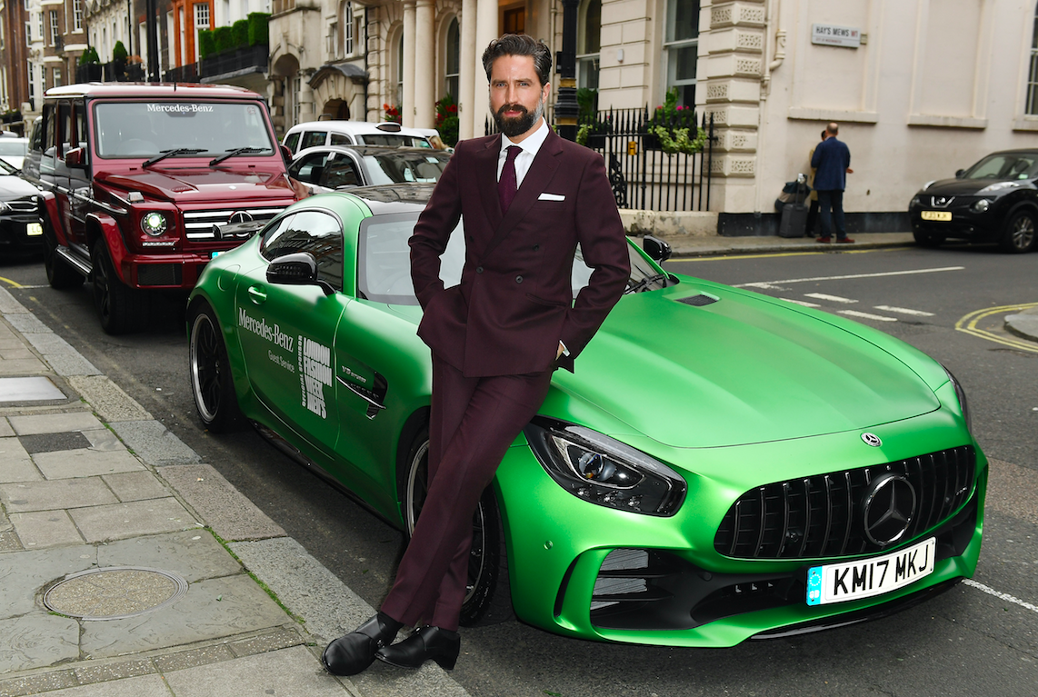 Mercedes-Benz celebrates ninth season as official car sponsor of London Fashion Week Men's SS18