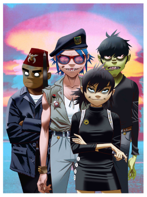 Gorillaz Release new track Garage Palace feat Little Simz